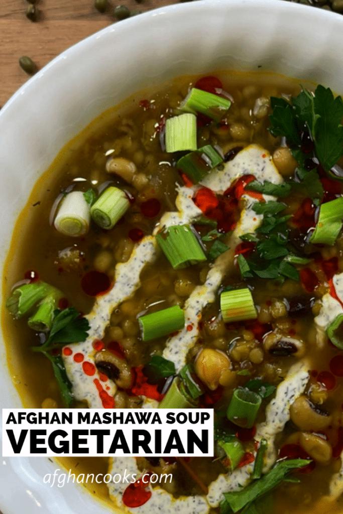 Afghan Mashawa Soup
