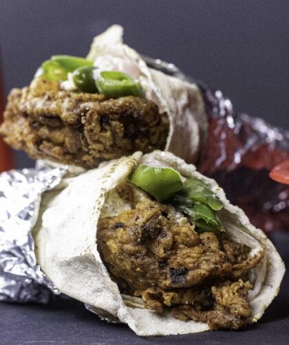 Afghan Spicy Chicken Sandwich