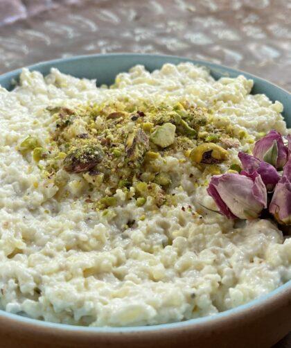 Afghan Rice Pudding